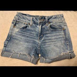 Size 0 AE Jean Shorts (2 pairs)